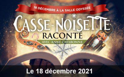 CASSE-NOISETTE RACONTÉ