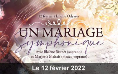 UN MARIAGE SYMPHONIQUE